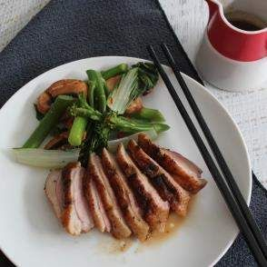 Recipe Five spice duck with mushroom and Asian greens by Thermomix in Australia - Recipe of category Main dishes - meat