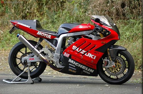 GSXR 1100. Beam frame was something more like a set of match sticks back then.