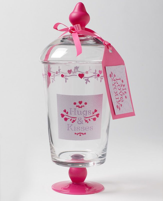 12 best birthday ideas for lady 39 s images on pinterest for Martha stewart christmas wine glasses