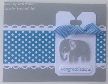 Zoo Babies - the perfect stamp set for all crafts baby-related!