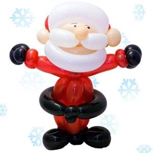 minus the black belt... Christmas Balloons | Santa Balloon | Balloons Online At FMAG