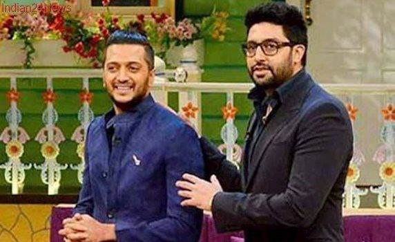 Riteish Shares An Adorable Throwback Picture Of Abhishek Bachchan