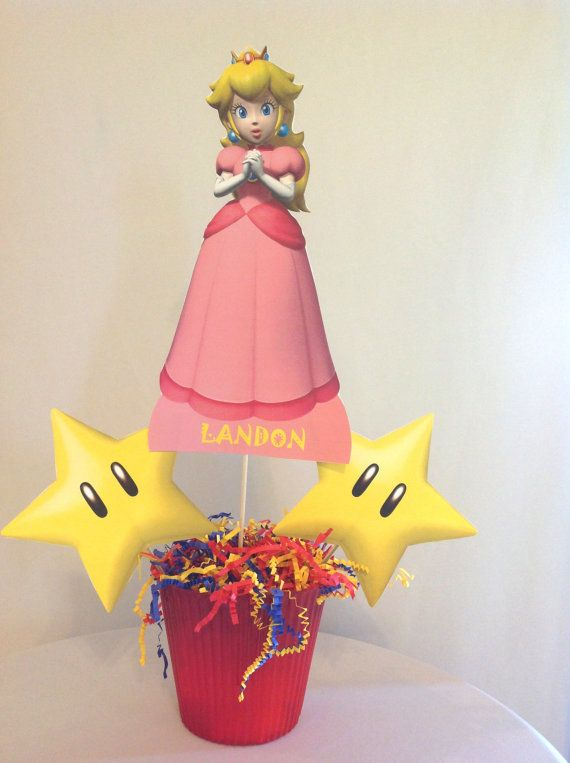 27 best images about Princess Peach Birthday Party Theme ...