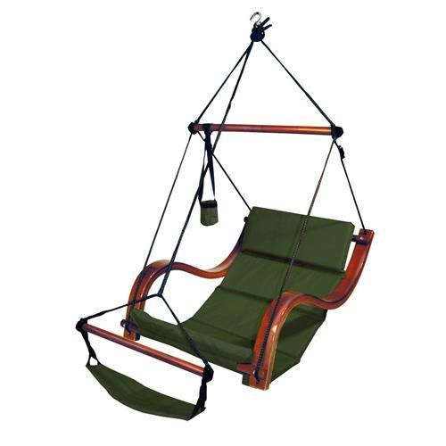 Hanging Hammock Lounge Chair Glider And Ottoman Slipcovers There Are More Colors Of This Deluxe Available Green Blue Cream Nice To Add Texture Comfort Your Home Whether