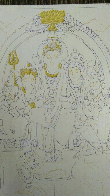 Kerala mural painting madhubani painting diwali festival pencil design krishna painting