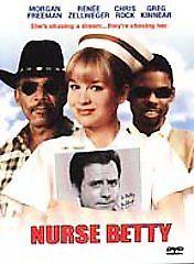 Nurse Betty DVD - FREE SHIPPING