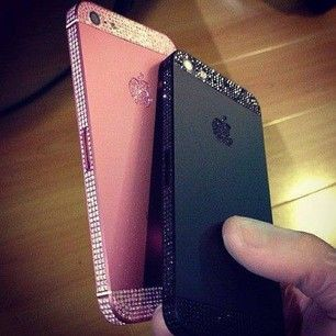 Glitter Iphone cases <3