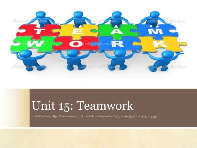 Teamwork is key. If your team can synchronize and work as one, your unbeatable