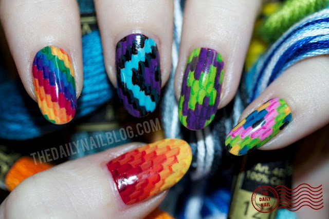 Let them have Polish!: #AwesomeNailsAreAwesome Guest Week Ends with Melissa of The Daily Nail and her Flossy Nails