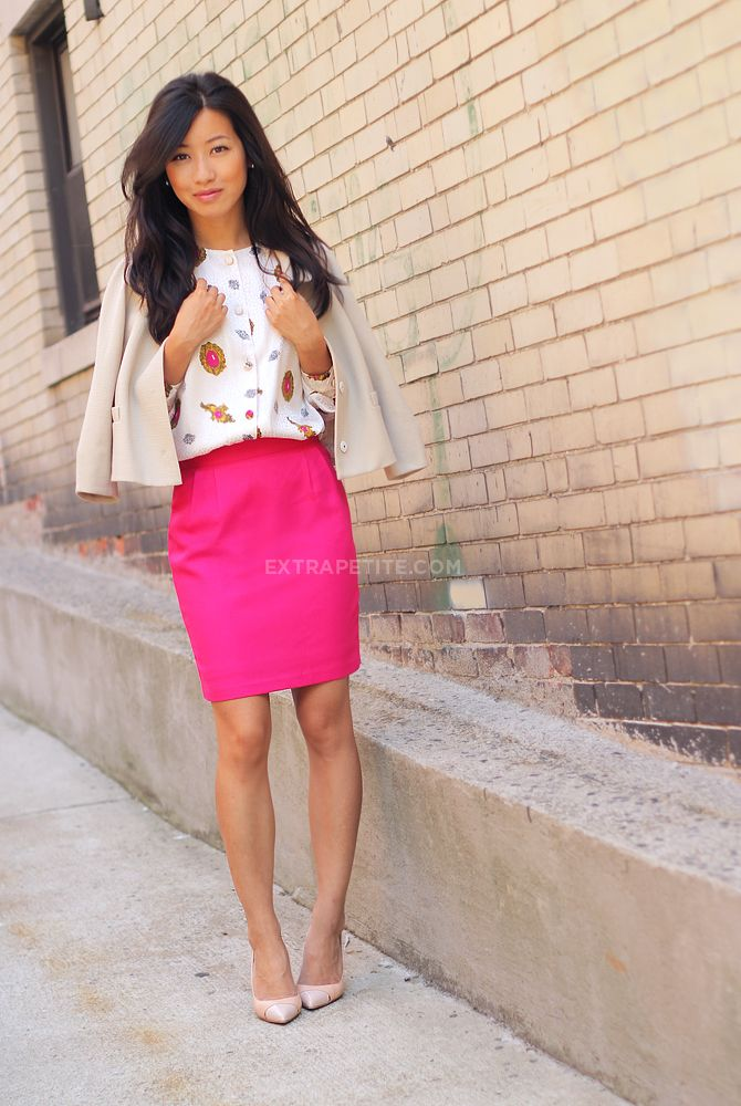 25  best ideas about Pink skirts on Pinterest | Pleated skirt ...