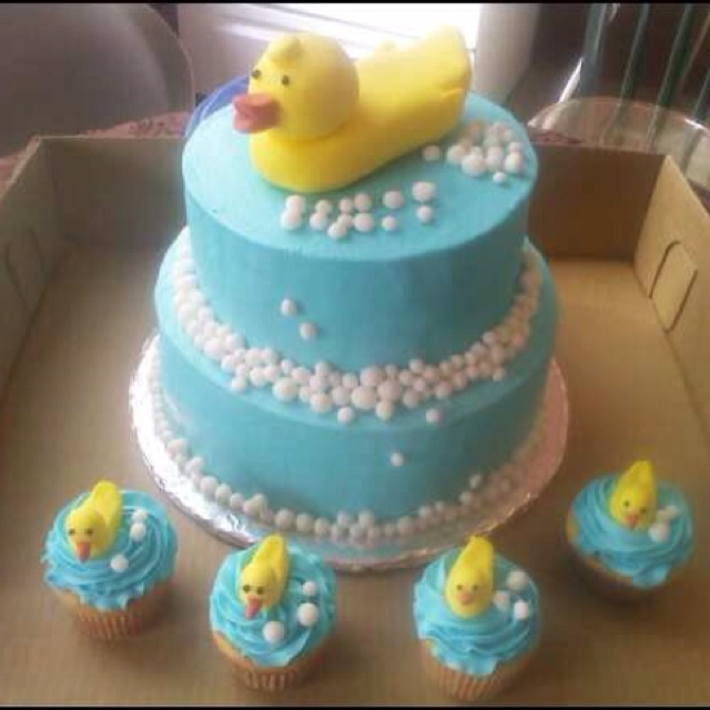 duck baby shower cake ducky theme pinterest duck cake showers