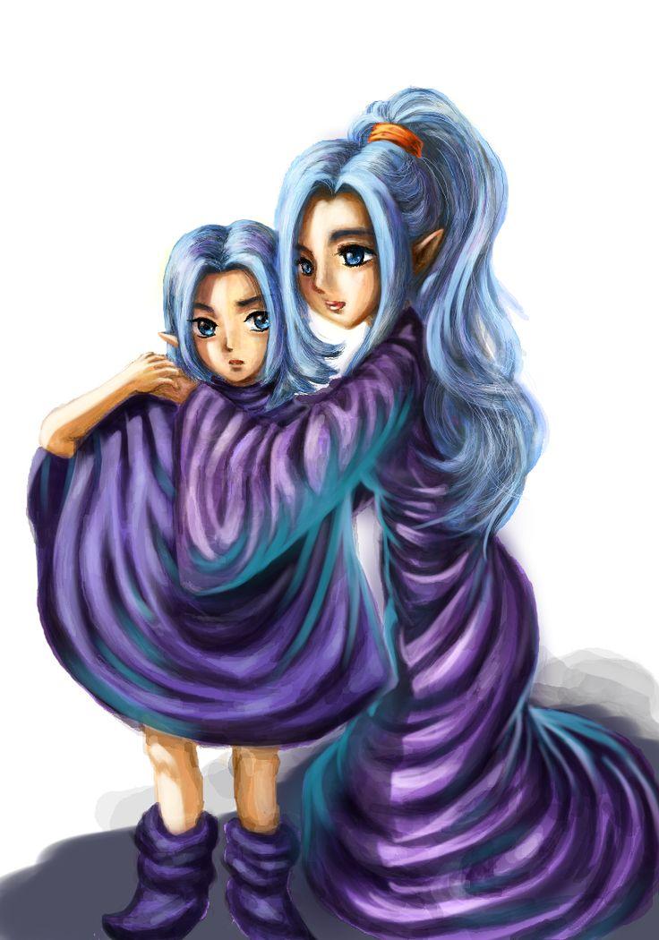 janus and schala - Chrono Trigger