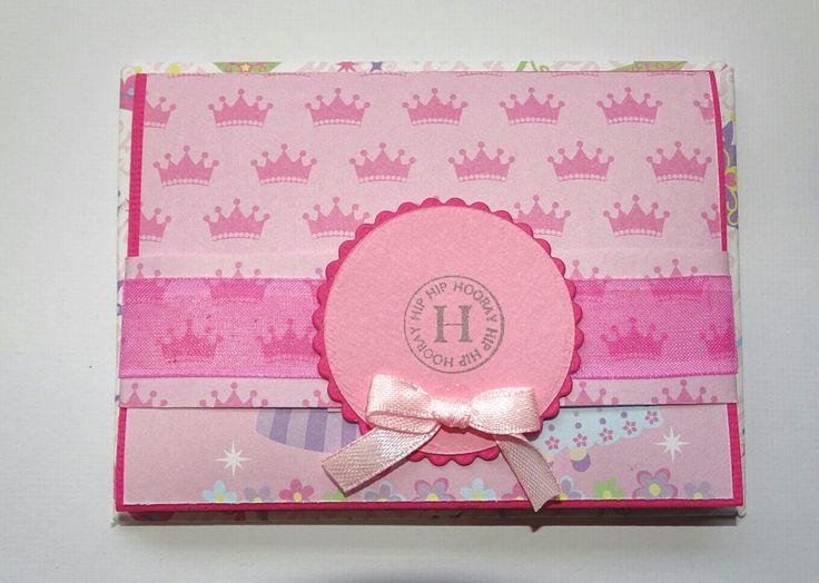 Gift Card Holder - Girls Birthday - Girls Birthday Card - Gift Card Envelope - Greeting Card - Gift Card Pocket - Princess Card - Handmade by prettypapernz on Etsy