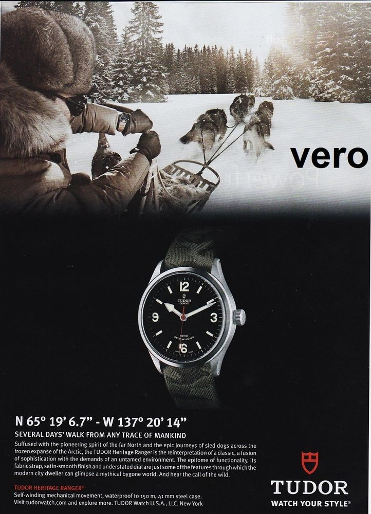 43 best images about ad ads WATCH print watches advert ...