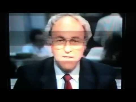 Crash of 1987 - Live news reports of Stock Market Crash