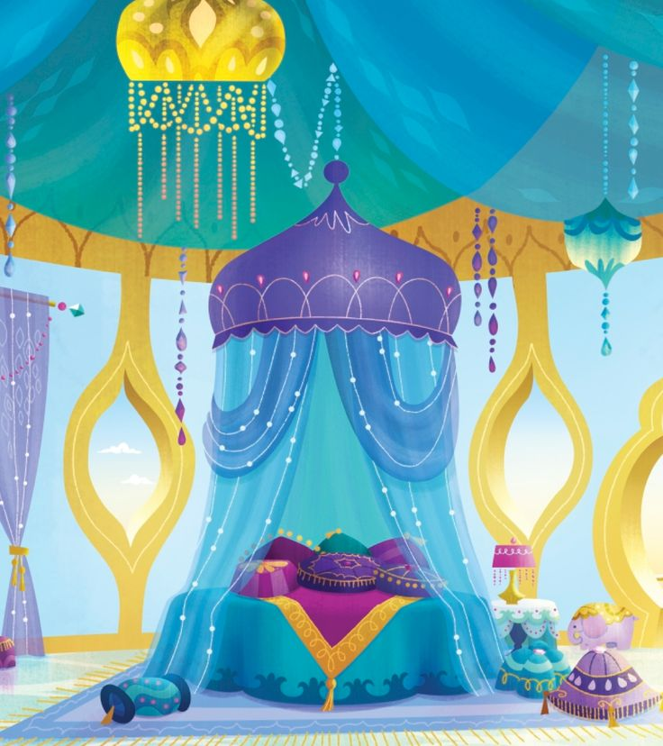 Shines Room In Shimmer And Shine Is The Bedroom Any Kid Would Wish For amp