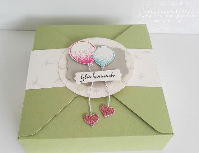 Partyballons für die December-Inkspirations-Gewinnerin
