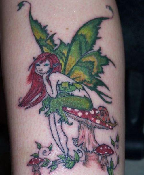 the 25 best fairy mushroom tattoos images on pinterest fairies tattoo mushroom tattoos and. Black Bedroom Furniture Sets. Home Design Ideas