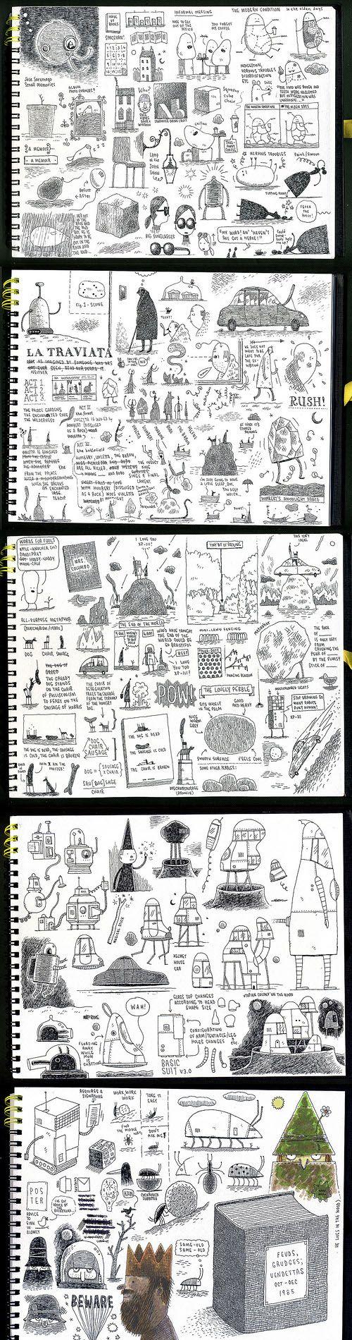 Tom Gauld's sketchbook