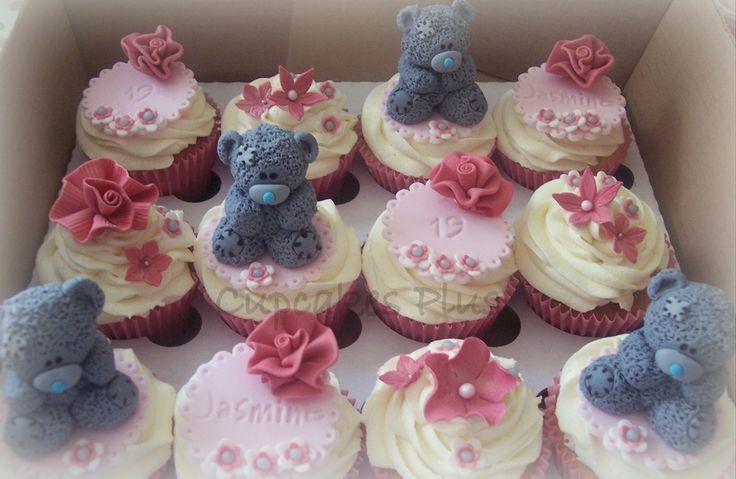 Tatty Teddy Birthday Cupcakes Little Themed Vanilla