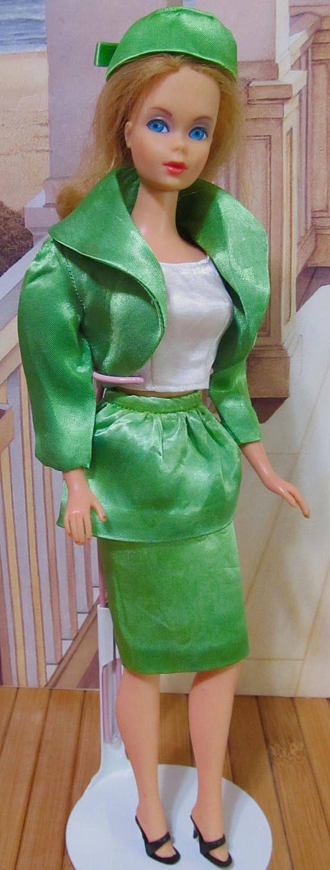 Vintage Barbie Doll TNT And Bendable Flip Hair Mattel 1960s