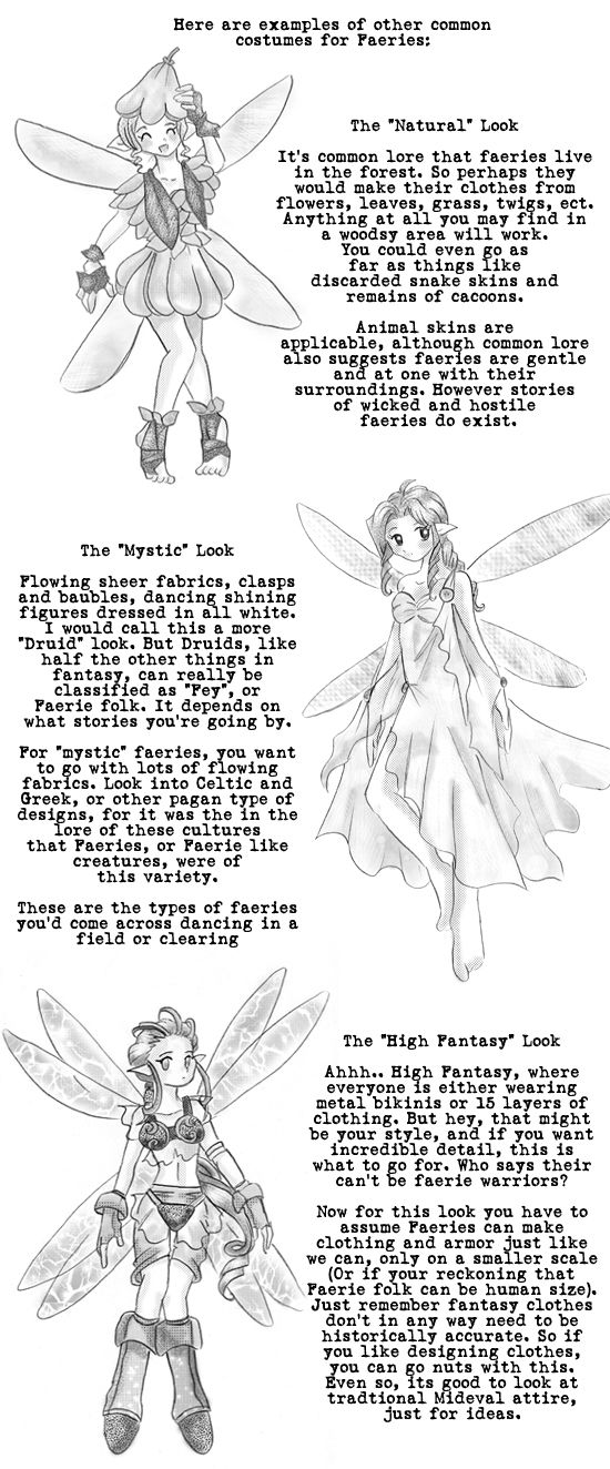 How to Draw Faeries pg 4 full tutorial available by ~Sai-Manga-Tuts on deviantART