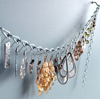 Jewelry Chain - Dorm Storage - Bob Vila