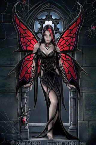 Dark Fantasy Fairies | Dark Art Fairy Background Wallpapers , here you can see Dark Art Fairy ...