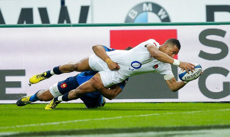 England have won the Six Nations grand slam, holding out against France in Paris to win 31-21 despite an error-strewn performance