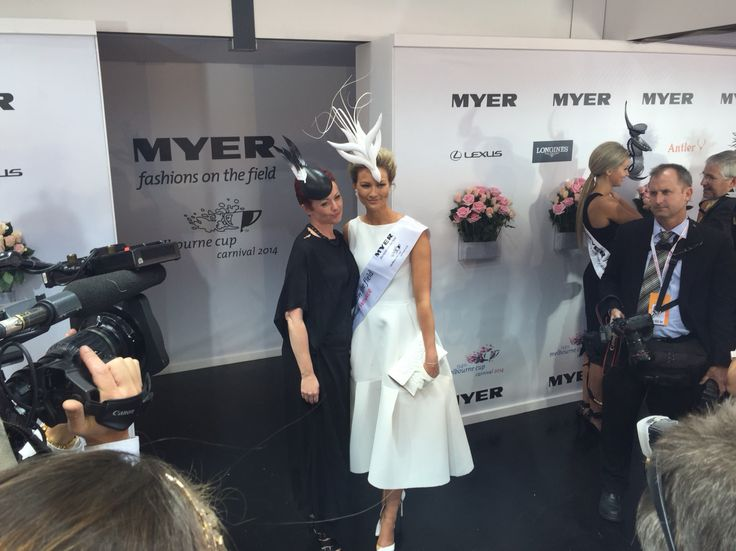 Fashions on the Field Millinery winner Jack and Jill Millinery.