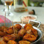 Pommes de terre rôties épicées et son dip crémeux