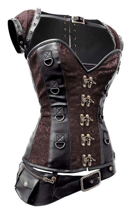 Brown Steampunk Corset | Steampunk Corsets UK and USA https://www.steampunkartifacts.com/collections/steampunk-glasses