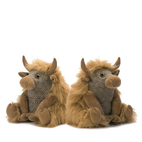 Angus Highland Cow Bookends