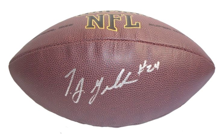 Jacksonville Jaguars T.J. Yeldon signed NFL Wilson full size football w/ proof photo.  Proof photo of TJ signing will be included with your purchase along with a COA issued from Southwestconnection-Memorabilia, guaranteeing the item to pass authentication services from PSA/DNA or JSA. Free USPS shipping. www.AutographedwithProof.com is your one stop for autographed collectibles from Florida sports teams. Check back with us often, as we are always obtaining new items.