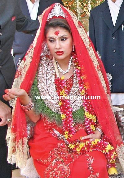 Bride wedding nepali pinterest brides for Wedding dress nepali culture