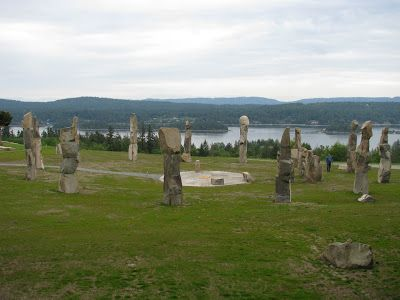 The Standing Babas: Canada's Stonehenge on Salt Spring Island