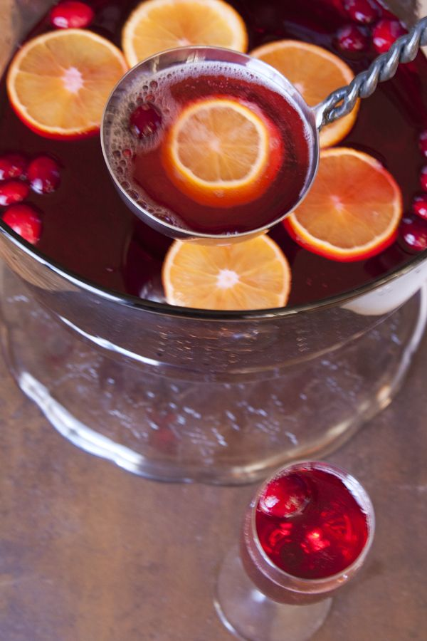 Poinsettia punch for New Years | Drink Up! | Pinterest