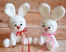 Кролики амигуруми. Описание