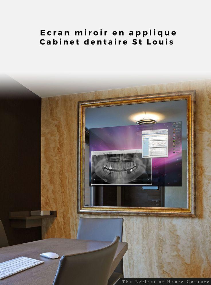 Int gration d 39 un cran miroir en applique avec pilotage for Ecran en miroir