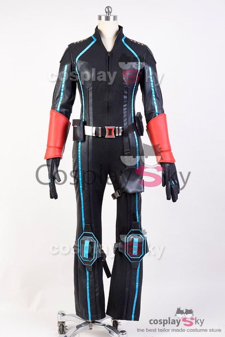Vengadores (The Avengers) Viuda Negra Disfraz Cosplay Version Nueva #cosplaysky #disfraz #comic #cosplay