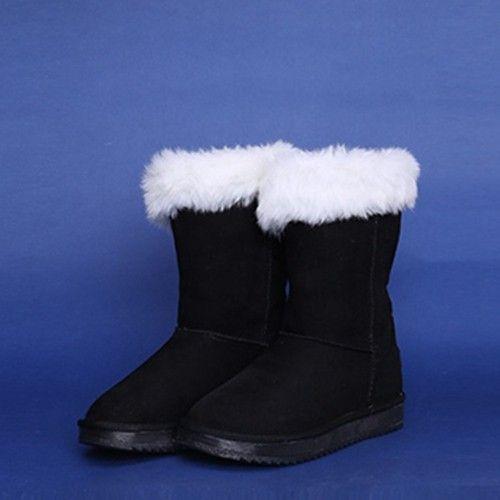 Black High Luminous Boots