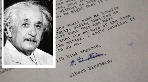 Γράμματα του Αϊνστάιν για τον Θεό, το Ισραήλ και τη Φυσική βγήκαν στο σφυρί