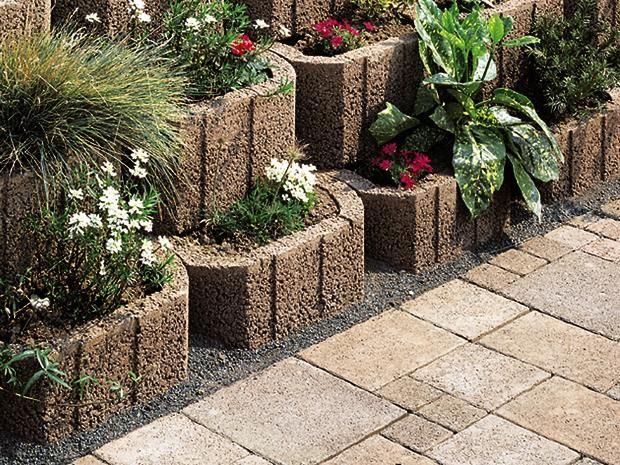 Gestalten Sie Ihren Garten Mit Pflanzsteinen Bauhaus Pflanzen Pflanzstein Garten