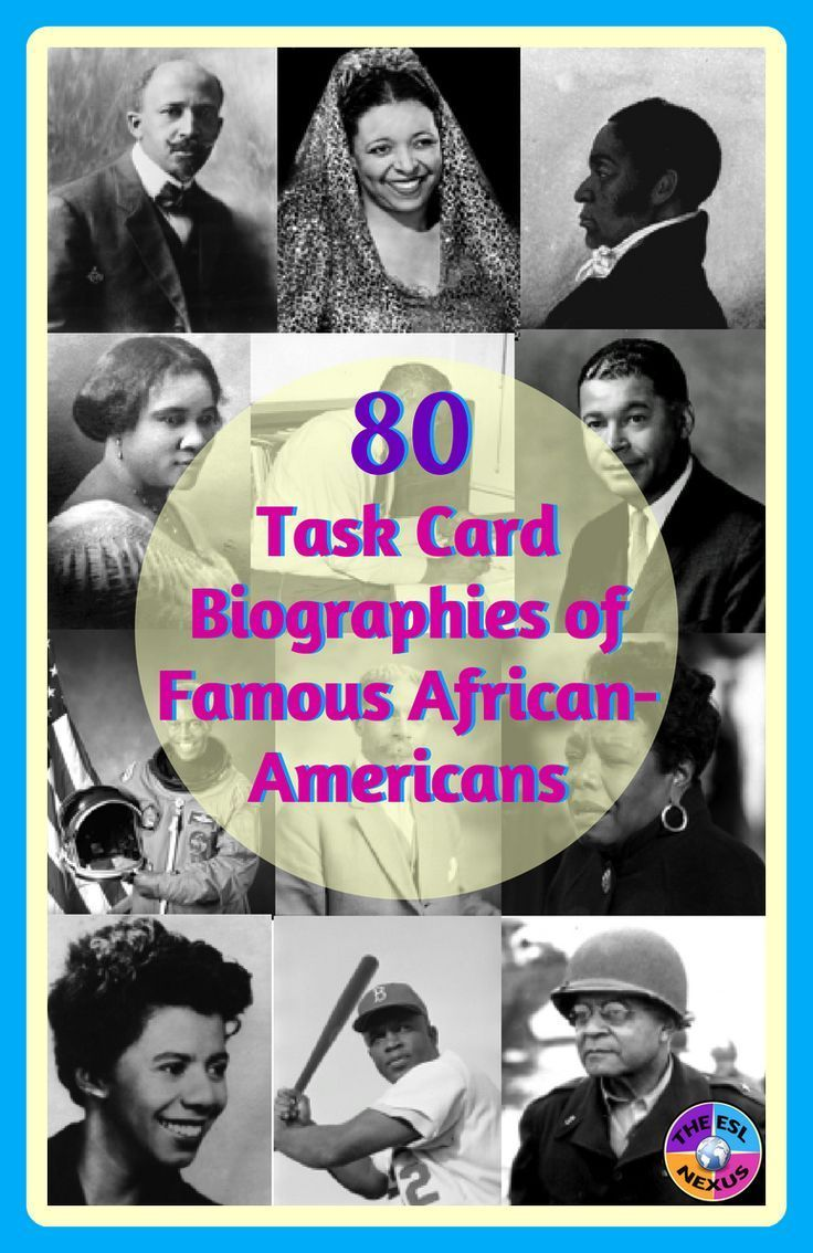 African-American History: Task Cards for Writing, Speaking ...