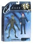Mcfarlane Toys 1998 The X-Files Series 1 - Agent Scully With Alien Action Figure