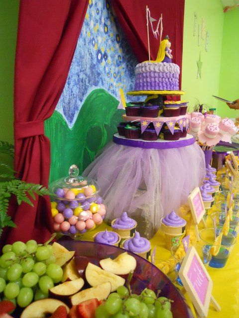 "Photo 5 of 23: rapunzel, tangled / Birthday ""Tangled in FUN"""