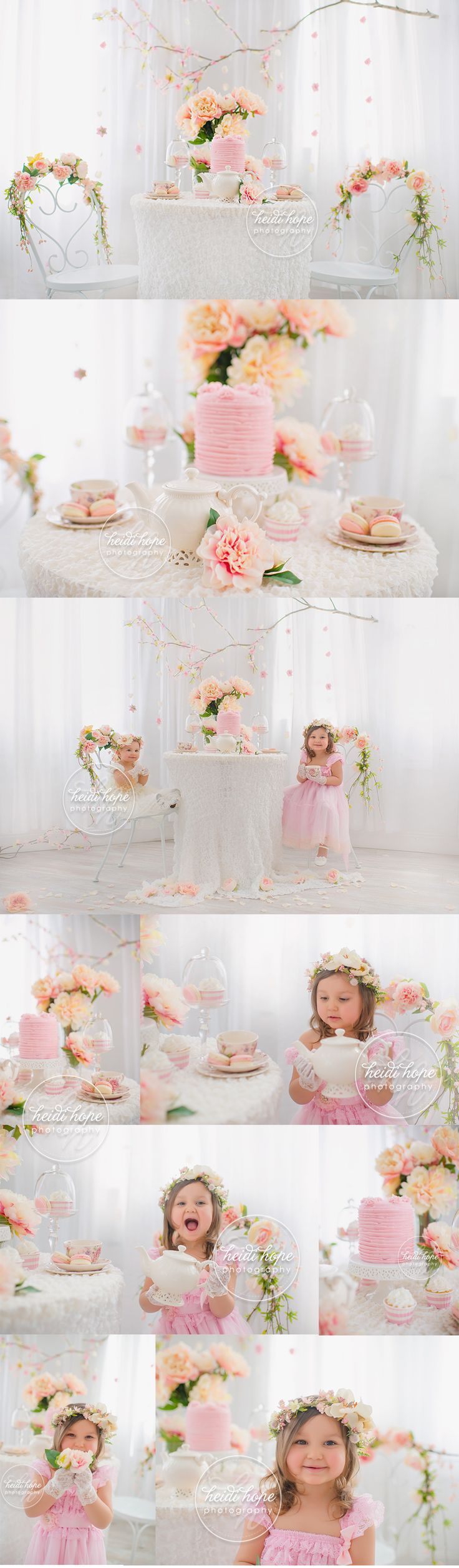 A sweet sneak peek of a recent tea party session.  These girls were too cute!  boston childrens photographer tea party session