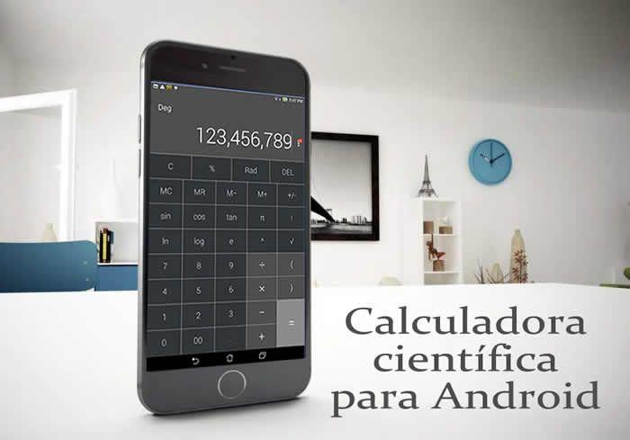 La calculadora tiene una interface simple y muy intuitiva permite realizar todo tipo de cálculos y es ideal para profesionales y estudiantes pero también para el público en general. #appsandroid #calculadoras