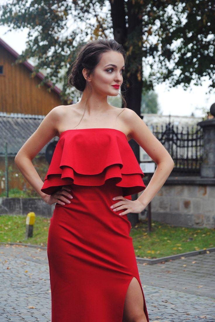 #wedding #reddress #sugarfree #dress #sexy #red #love #party #lady #heels  Dominika Krzyszkowska: 10/10/16