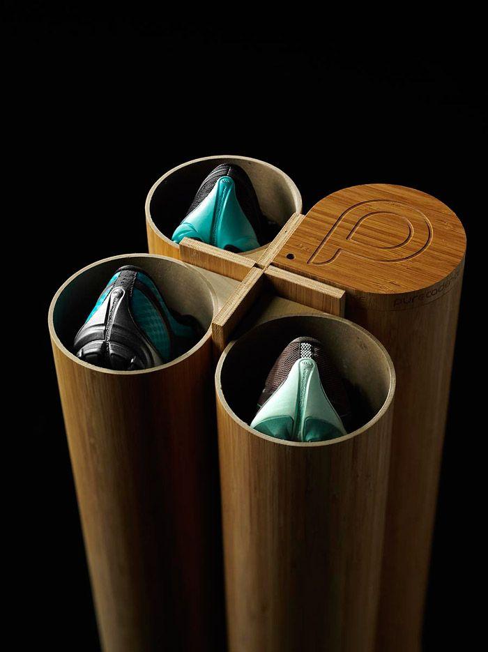เมื่อกล่องใส่รองเท้า Brooks กลายเป็นกระบอกไม้ไผ่ Packing Design แหวกแนว โดย Pure Project